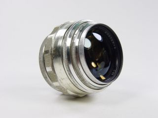 Extremely Rare Silver 85mm F/2 Jupiter - 9 Zenit M39 M42 S/n 6604397