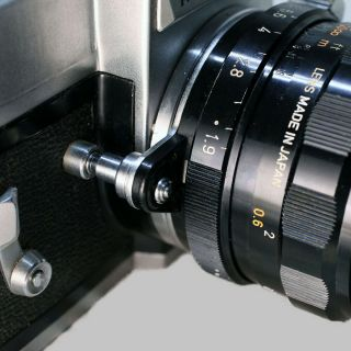 Mamiya Prismat Np With Rare Canon 50mm 1.  9 Om Spring Set Lens