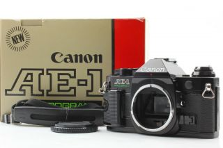 【rare!almost 】canon Ae - 1 Program 35mm Film Camera From Japan 276