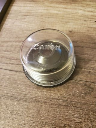 Rare,  Canon Macro Photo Lens 35mm F/2.  8 Fd Mount From Japan