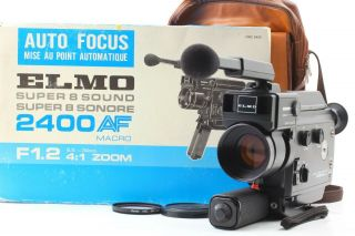[rare Exc5 In Box] Elmo 8 Sound 2400 Af Macro Movie Camera From Japan