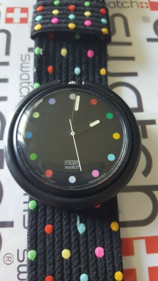 Swatch Parade Pwbb121 1991 Pop 39mm Textile