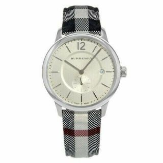 Burberry Bu10002 The Classic Horse - Ferry Stainless Steel Men