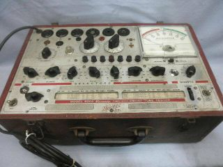 Hickok 600a Micromho Dynamic Mutual Conductance Tube Tester - Parts