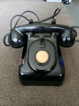 1949 Telephone It Is Crank Operated With All Cords In