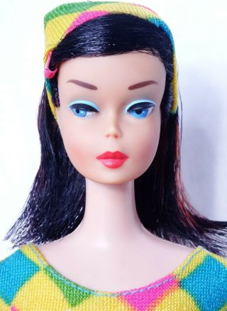 Vhtf Rare Vintage Midnight High Color Color Magic Barbie Doll Stunning