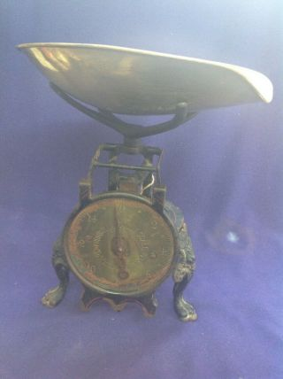 Rare Old Antique Fancy Victorian Cast Iron Turnbull