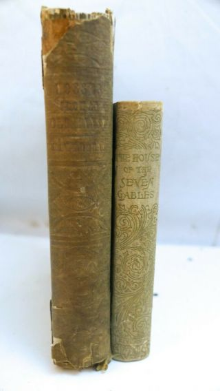 Antique Mosses From An Old Manse & House Of The Seven Gables Nathaniel Hawthorne