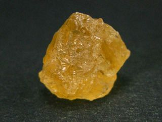 """Rare Etched Gem Heliodor Crystal From Brazil 0.  8 """" - 27.  3 Carats"""